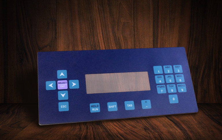 non-tactile-membrane-keyboard